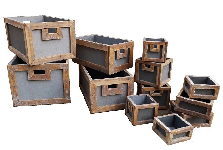 home deco old dutch crate s/12-4