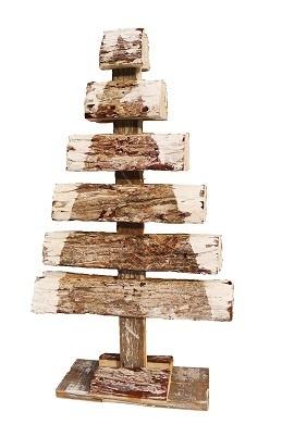 xmas bark tree double 52-8