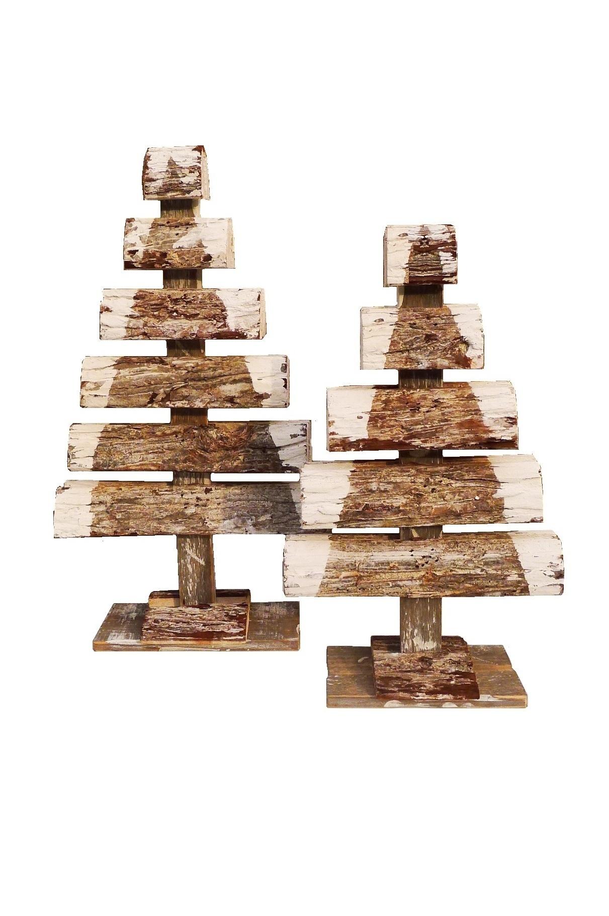 xmas bark tree double 52-9