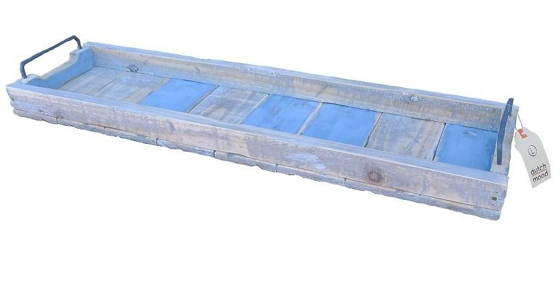 Tablett rechteckig blau - 98/20-1