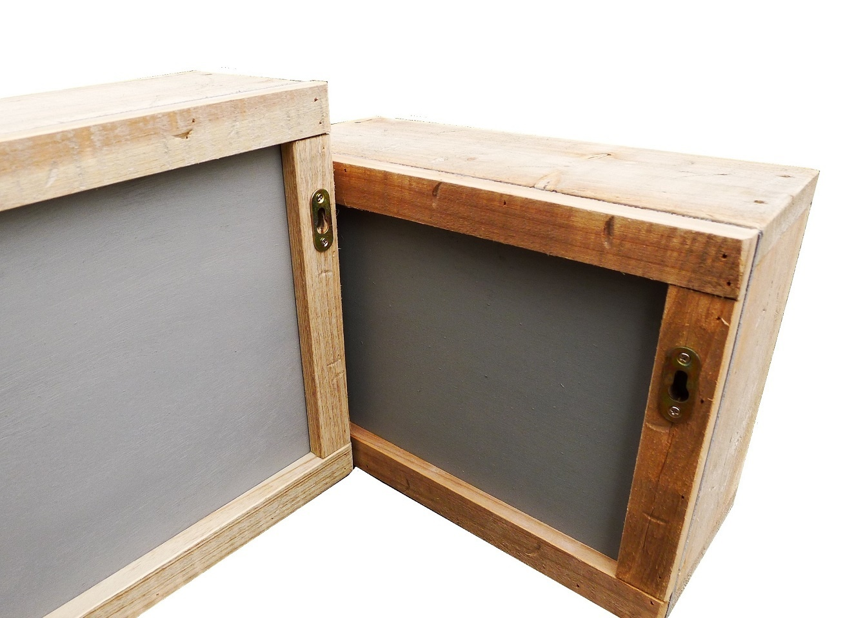 home deco old dutch wall box mirror set-8