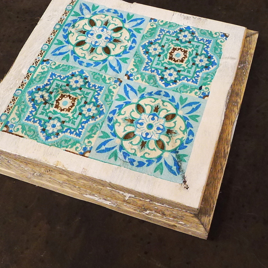 wooden tile old dutch india green out-8