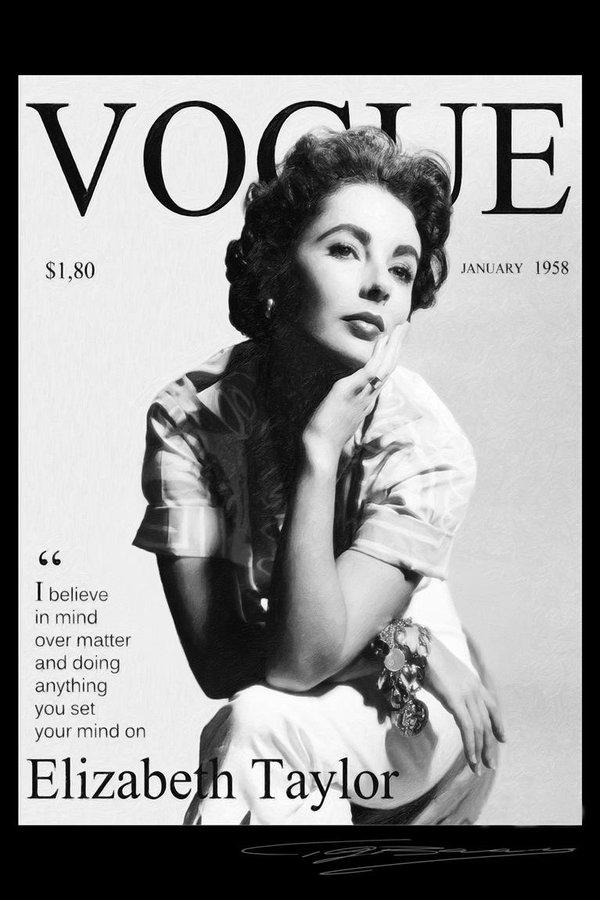 Elizabeth Taylor magazine