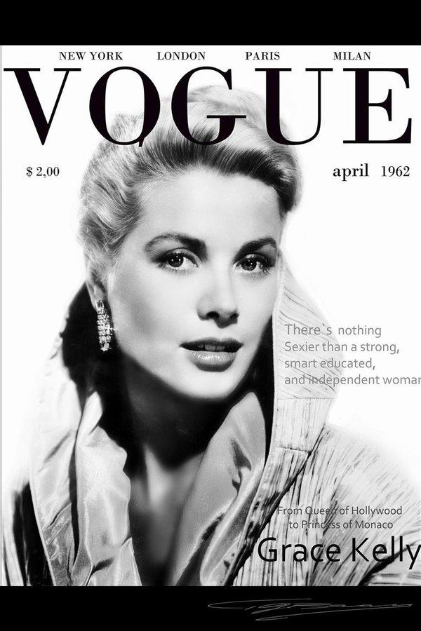 Grace Kelly Vogue