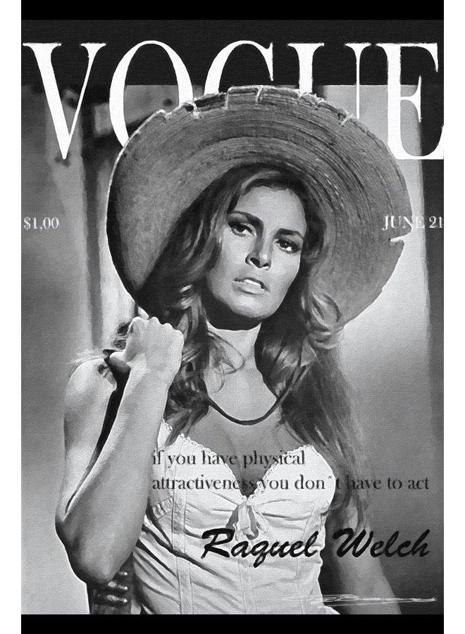 Raquel Welch magazine