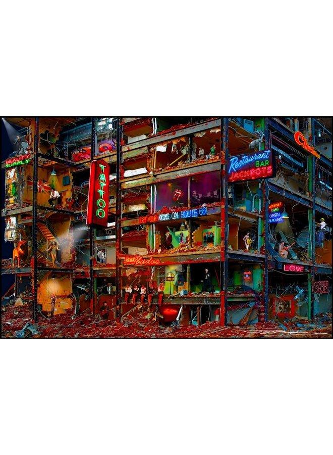 Demolition artist