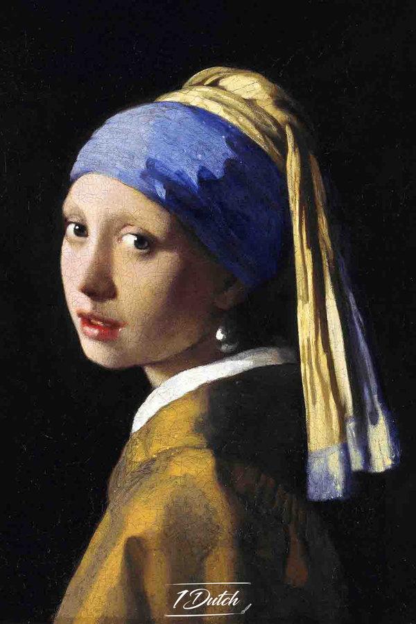 Johannes Vermeer, Meisje met de parel, c. 1665