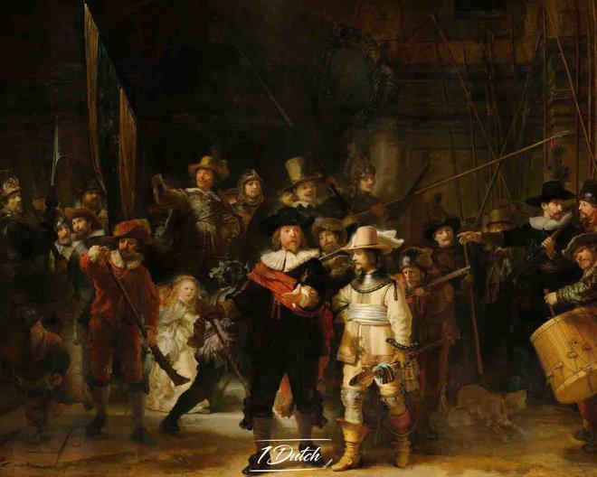 Rembrandt van Rijn De Nachtwacht