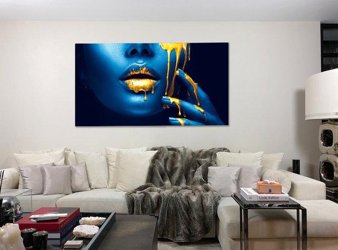 Blue daba dee