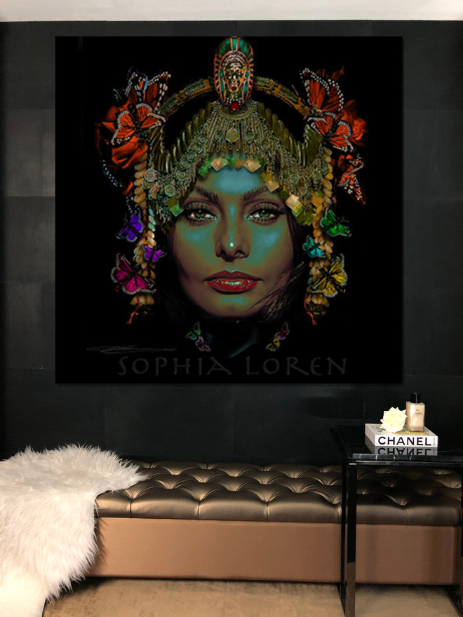 Sophia Loren Liz