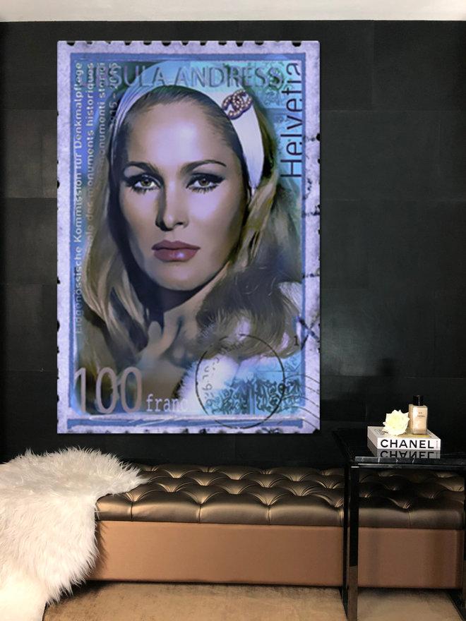 Ursula postzegel
