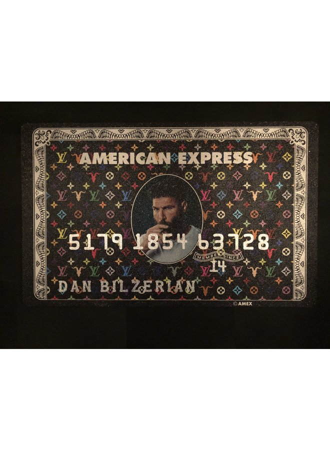 Amex Creditcard | Dan Bilzerian Black