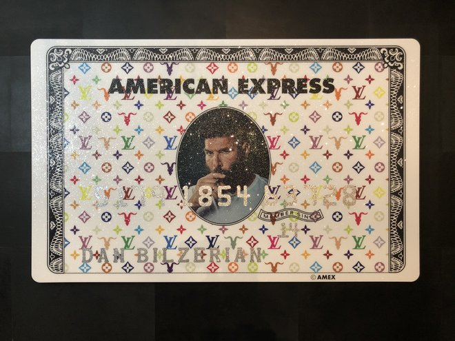 Amex Creditcard | Dan Bilzerian White
