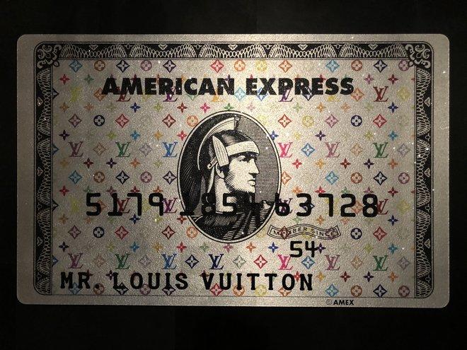 Amex Creditcard | Mr. Louis Vuitton Silver Edition