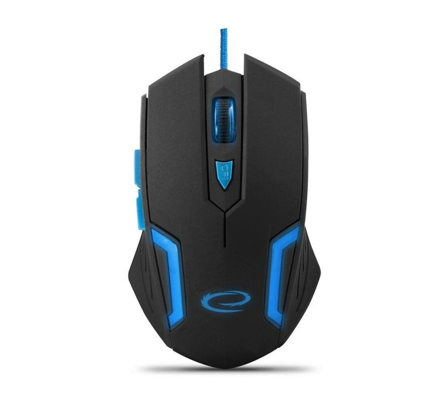 Esperanza Gaming Mouse MX205 Fighter Blauw/Rood