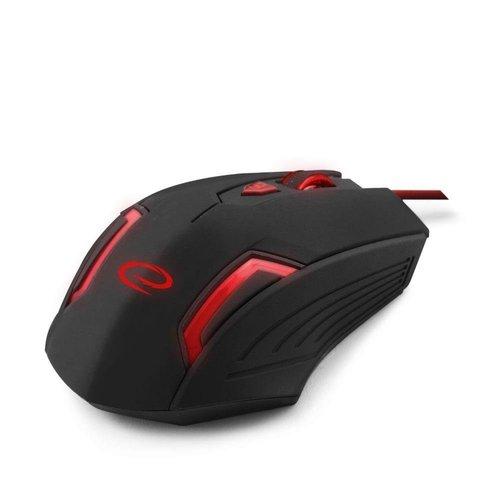 Esperanza Esperanza Gaming Mouse MX205 Fighter Black/Red