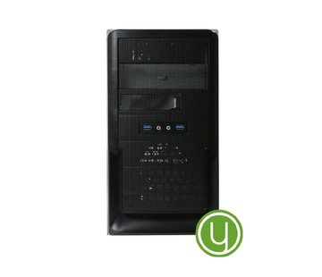 Yours Yours Green Desktop PC CEL/4GB/1TB/120GB SSD/HDMI/W10