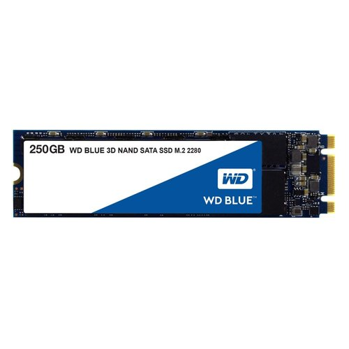 Western Digital SSD WD Blue 250GB M.2 2280 ( 550MB/s read 525MB/s)