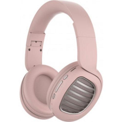 Snopy Snopy SN-BT55 DIAMOND TF Kart - Bluetooth headset met kaart – Zwart/Roze