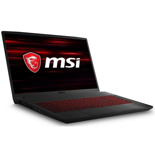 MSI 17.3 F-HD 120Hz i7-9750H 16GB 512GB SSD+1TB GTX1650 W10