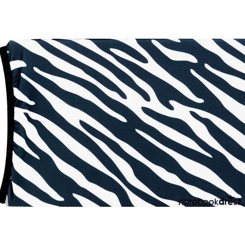 """Notebookdresz Laptophoes zebra voor laptops tot 16"""""""