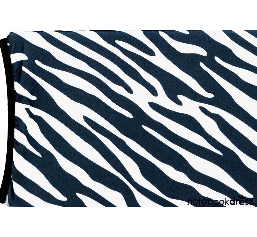 """Laptophoes zebra voor laptops tot 16"""""""