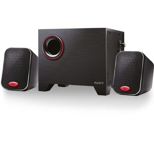 Ewent Ewent EW3505 luidspreker set 2.1 kanalen 15 W Zwart