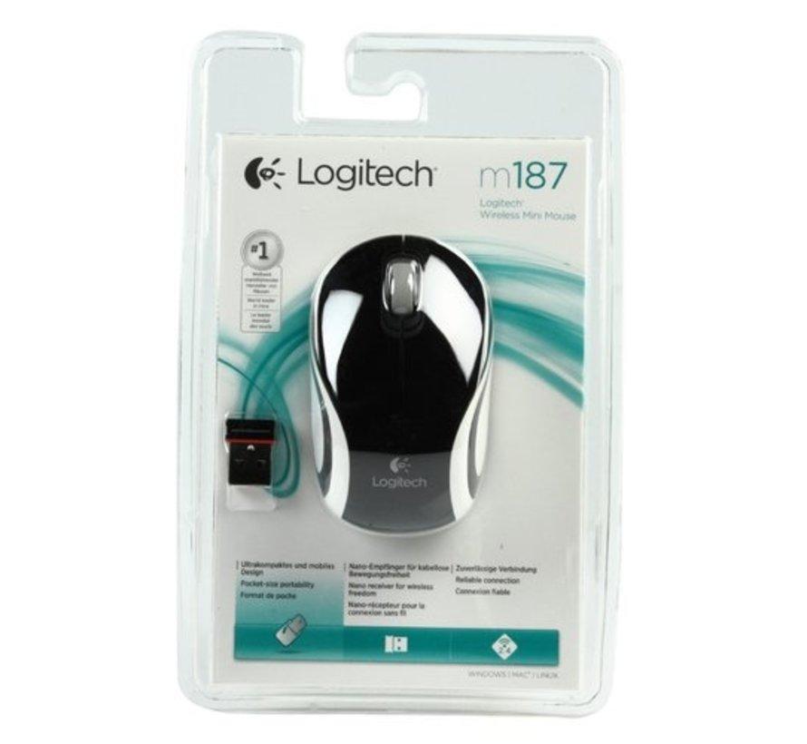M187 Wireless Mini Mouse Black
