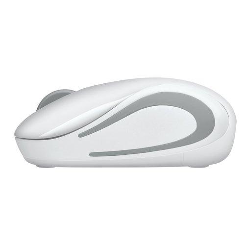 Logitech Logitech M187 Wireless Mini Mouse White