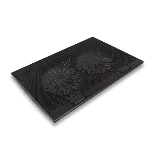 """Ewent EW1253 notebook cooling pad 43,2 cm (17"""") Zwart"""