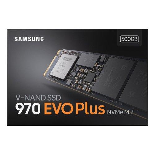 Samsung Samsung 970 EVO Plus M.2 500 GB PCI Express 3.0 V-NAND MLC NVMe