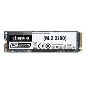 Kingston Kingston Technology KC2000 M.2 500 GB PCI Express 3.0 3D TLC NVMe