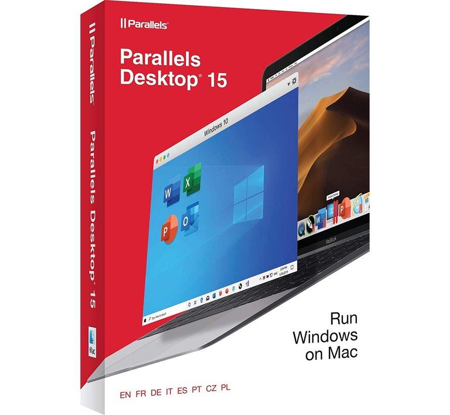 Parallels Desktop 15 for Mac 1-Mac