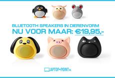 Nieuw: Bluetooth speakers in dieren vorm | Handsfree bellen mogelijk