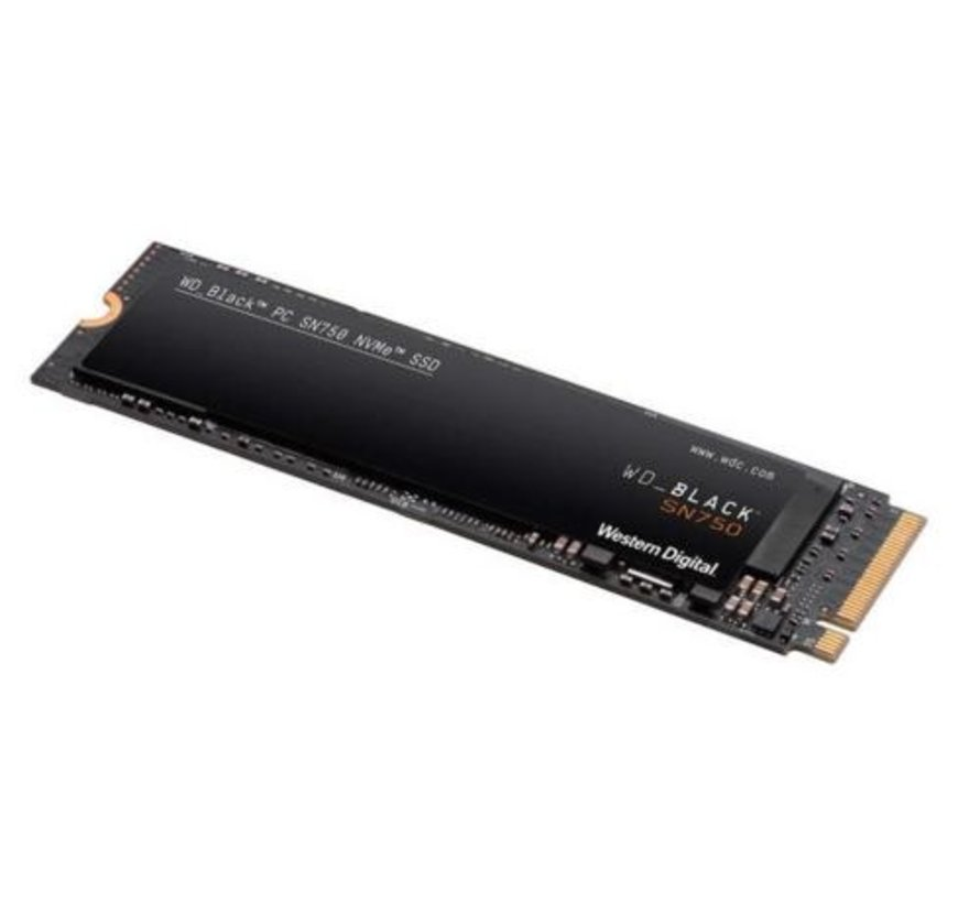 WD SN750 internal solid state drive M.2 500 GB PCI Express 3.0 NVMe