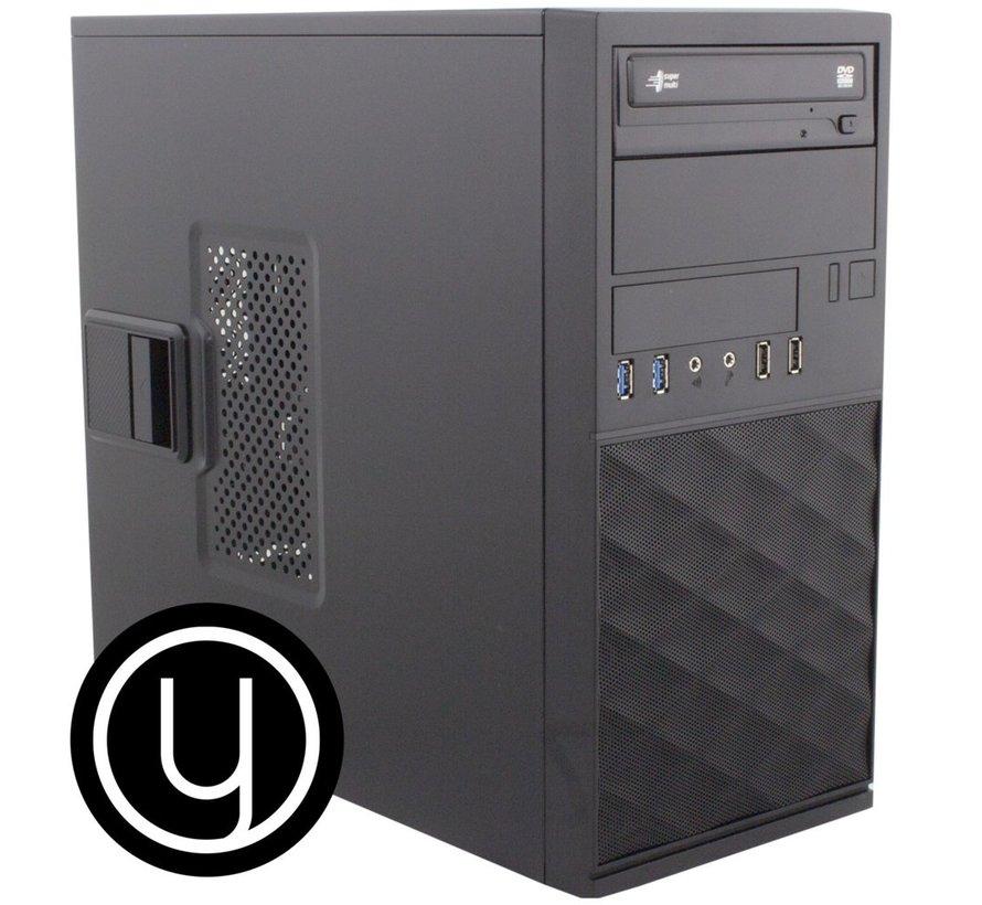 YOURS BLACK /INTEL I7 10th /16GB / 2TB/ 480GB SSD/ HDMI /W10