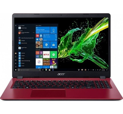 Acer Acer Aspire 3 RED 15.6 / 10th i3-1005G1 / 4GB / 256GB / W10