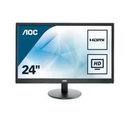 "AOC AOC Value-line E2470SWH LED display 59,9 cm (23.6"") Full HD LCD Flat Mat Zwart"