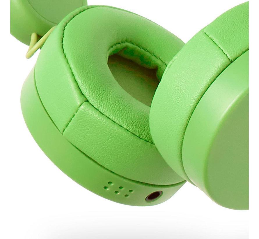 Bedrade Koptelefoon | 1,2 m Ronde Kabel | On-Ear | Afneembare Magnetische Oren | Max 85dB | Kikker, Konijn of Rendier