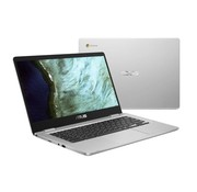 "Asus ASUS Chromebook C423NA-EB0350 Zilver 35,6 cm (14"") 1920 x 1080 Pixels Intel® Celeron® 4 GB LPDDR4-SDRAM 64 GB eMMC Wi-Fi 5 (802.11ac) Chrome OS"