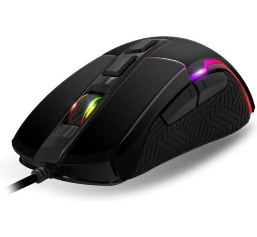Spirit of GamerPRO-M7 4800 dpi RGB programmeerbare gaming muis