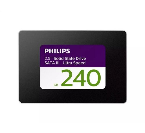 Philips Philips SSD 240GB 2.5inch ( 550MB/s Read 480MB/s )