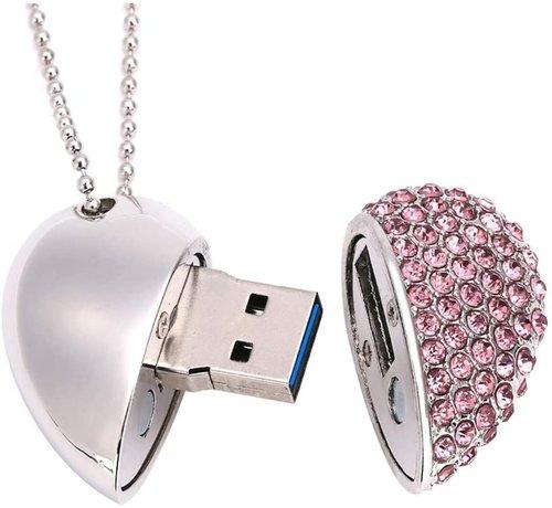 Kristalhart USB 3.0 Flashdrive 16GB verschillende kleuren