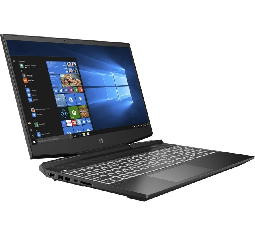 HP GAMING 15.6 F-HD i7-10750H 16GB  256GB+1TB RTX2060 W10