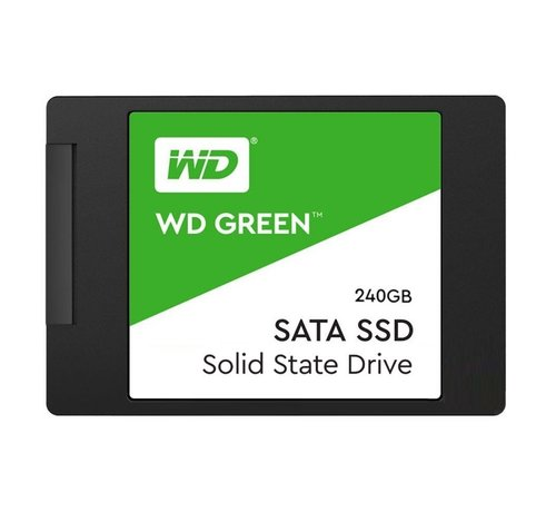 Western Digital SSD WD Green 240GB 2.5Inch( 540MB/s read 465MB/s) SATA-600