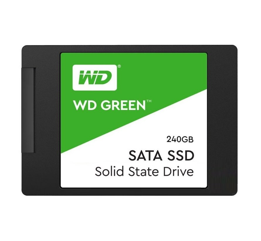 SSD WD Green 240GB 2.5Inch( 540MB/s read 465MB/s) SATA-600