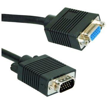 Ewent 1.8m VGA VGA kabel 1,8 m VGA (D-Sub) Zwart
