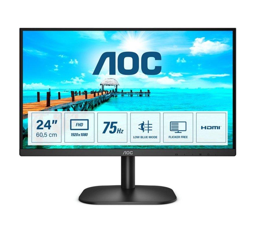 Mon  23.8 F-HD / HDMI / VGA / Black