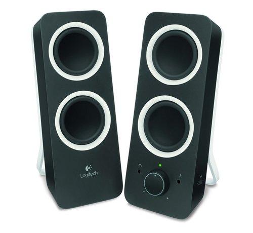 Logitech Z200 Speakerset 2.0 Midnight Black