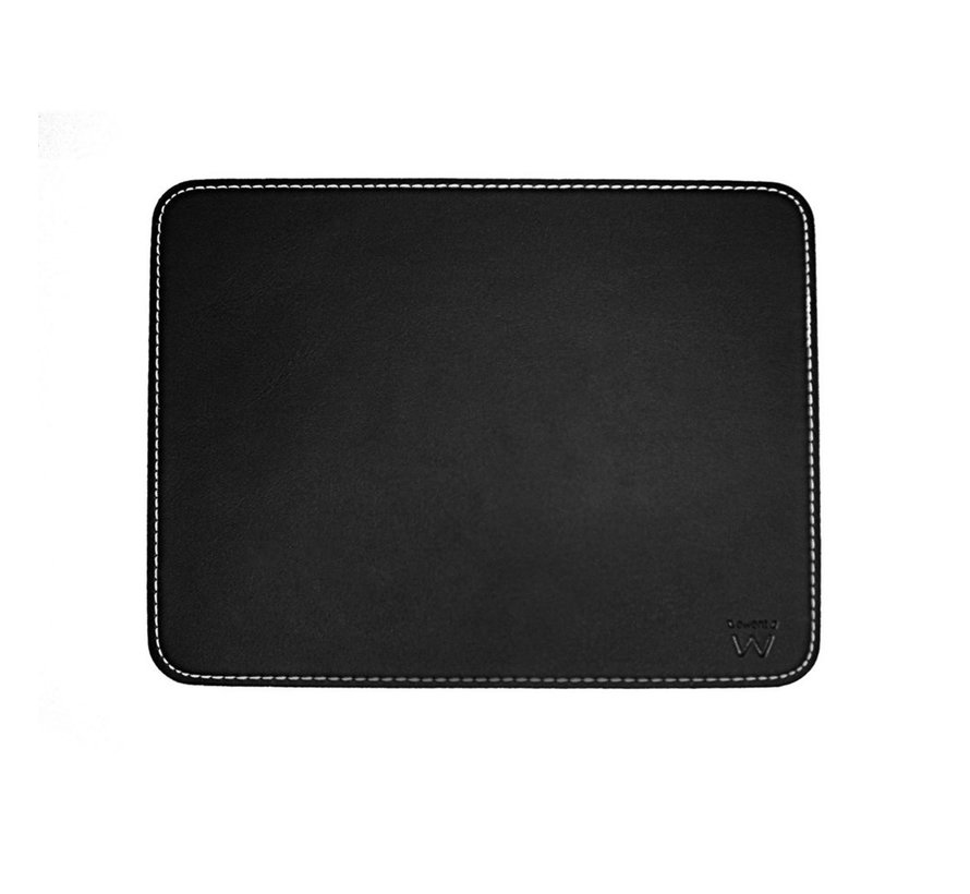 Mouse Pad Black leather look